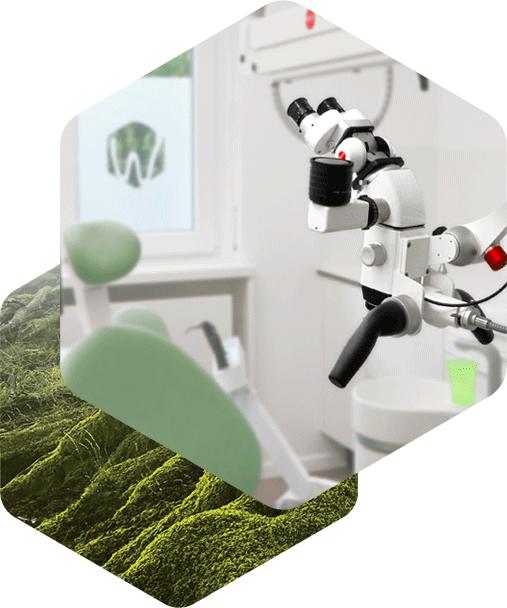 Wurzelbehandlung & Wurzelkanalbehandlung mit OP-Mikroskop